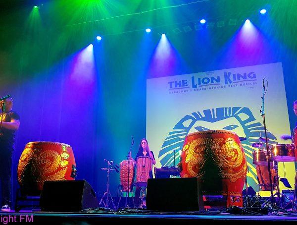 Slagwerkers van de Lion King