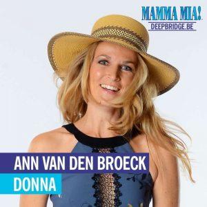 Ann van den Broeck speelt moeder Donna